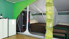 Classic Tent Interior Bedroom