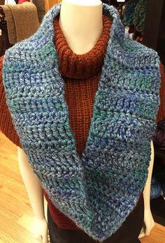 Ravelry: Zippy Crocheted Cowl pattern by Diane L. Augustin