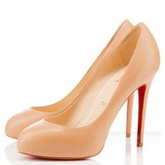 Christian Louboutin  New Declic 120mm Pumps Beige123 on the lookout for limited offer,no taxes and free shipping.#shoes #womenstyle #heels #womenheels #womenshoes  #fashionheels #redheels #louboutin #louboutinheels #christanlouboutinshoes #louboutinworld
