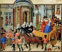Les miniatures de la Théséide de Vienne ======== ---------------(Wiener Theseide)  Интересное и забытое - быт и курьезы прошлых эпох.