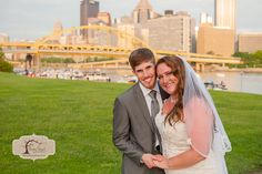 Pittsburgh Post Bridal Shoot - Bride & Groom Downtown Pittsburgh North Shore, 3 Rivers  © Penny Shaut Photography 2015 www.pennyshaut.com facebook.com/pennyshautphoto