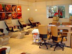 salon design ideas   Nail Salon Interior Design   Home Interior ...