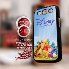Disney winnie the pooh and eeyore baby for Samsung Galaxy S3 case