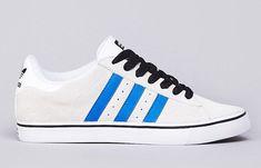 adidas Skateboarding Campus Vulc | White, Black & Bluebird