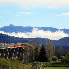 Low Clouds #landscapephotography #bridge