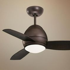"44"" Emerson Curva Oil-Rubbed Bronze Ceiling Fan - #P6654 | LampsPlus.comtwo 50 watt mini-candelabra halogen bulbs. 44"" blade span. 12 degree blade pitch. Fan height 12"" ceiling to blade (with 4-1/2"" downrod). Fan height 14.9"" ceiling to bottom of the light kit (with 4-1/2"" downrod). Canopy 6.5"" wide"