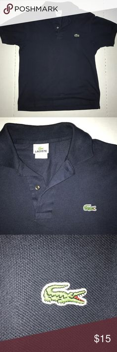 Lacoste Polo Fits like Medium, great condition Lacoste Shirts Polos
