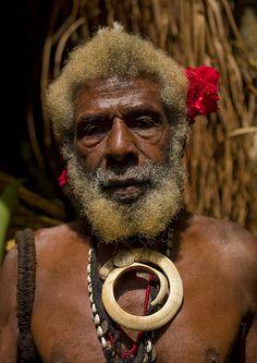 Chief of Fanla, Ambrym, Vanuatu
