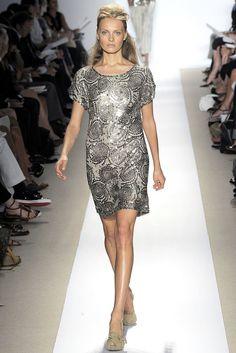 Peter Som Spring 2009 Ready-to-Wear Fashion Show - Anna Jagodzinska