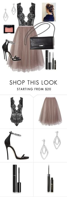 """Tule skirt"" by staceybuijs ❤ liked on Polyvore featuring Agent Provocateur, Coast, Dsquared2, Alexis Bittar, Chanel, Lancôme and NARS Cosmetics"