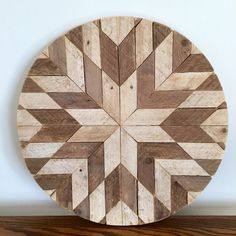 This piece of art is made with reclaimed lath wood from an 1871 farmhouse in rural Dekalb County, Illinois. This unique starburst piece