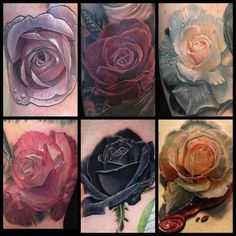 roses by Phil Garcia, Port Hueneme Ca, USA | rose tattoos