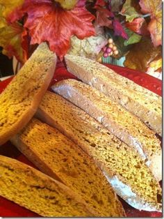 Pumpkin Pie Biscotti with Vivác Winery Rosé of Dolcetto, a DRY Rosé works with just about anything! www.VivacWinery.com