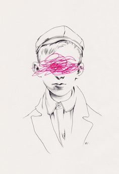 Taylor White. CMYK 2012. Ballpoint Pen And Fineliner On Paper...