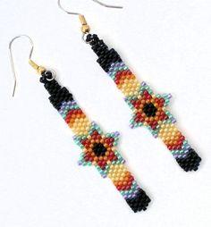 Starburst Feather Style Earrings   MissChicBoutique - Jewelry on ArtFire