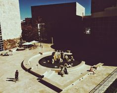 Afternoon delight.   #thegettycenter #chasingharshlight #losangeles #openspaces  by R. on EyeEm