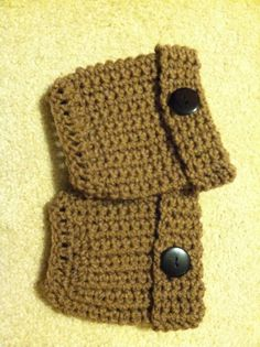 Boot Cuffs by crochetthisforme on Etsy