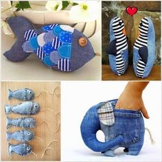 old jeans recycle Old Jeans Recycle, Denim Ideas, Denim Crafts, Crafts For Girls, Quilling, Projects To Try, Textiles, Quilts, Create