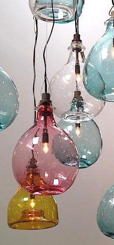 Cisco Brothers Handblown Lamps - More pastel ideas here: http://mylusciouslife.com/prettiness-luscious-pastel-colours/