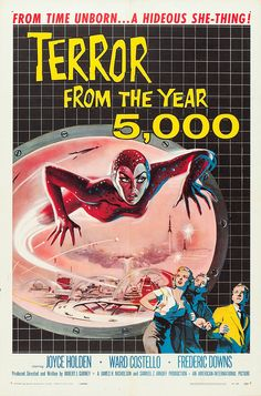 #Terror from the Year 5000 1958 #horror #scifi