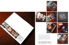 Design Portfolio 09 by Allison Wilton, via Behance