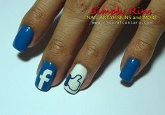 nail designs facebook - Google Search