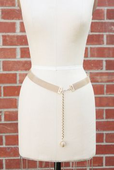 Vintage 70's gold Chain Belt by MrMisterVintage on Etsy, $15.00 definitely a  DIY
