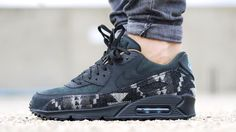 competitive price 09a71 d77e1 Pendleton x Nike Air Max 90 Nike Air Max 90s, New Trainers, Leather High