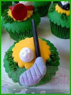 Golf Cupcakes ~!
