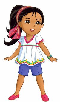 """Asia To Premiere """"Dora and Friends: Into the City!"""" In March 2015 Cartoon Girl Drawing, Girl Cartoon, Human Drawing, Red Hair Ribbon, Dora And Friends, Kids Background, Nick Jr, Art Drawings For Kids, Dora The Explorer"""