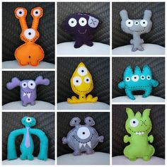Nice monster soft monster Adopt a monster! DIY Monster Plushies Still so on the fence about the monster plushies Adopt A Monster, Monster Toys, Monster Party, Softies, Plushies, Sewing For Kids, Diy For Kids, Ugly Dolls, Fabric Toys