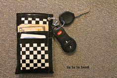 Full Tutorial! wallet/phone case/key chain