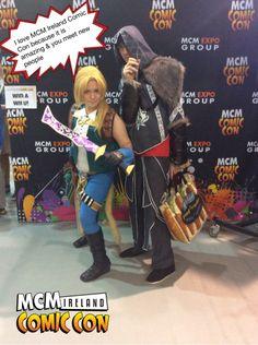 I love MCM Ireland Comic Con because it is amazing & you meet new people #ComicCon #Ireland #Pixe
