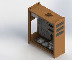 Explore the Biggest How To and DIY community where people make and share inspiring, entertaining, and useful projects, recipes, and hacks. Wood Computer Case, Computer Build, Wooden Case, Wooden Diy, Pc Cases, Desk Setup, Box Design, Design Process, Diy Projects