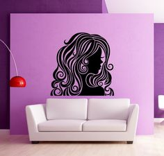 Cheap wall decals, Buy Quality wall sticker directly from China decorative wall stickers Suppliers: Removable Room Decoration Wall Sticker Beauty Hair Girl Spa Salon Decals Modern Wall Decal Cheap Wall Stickers, Wall Stickers Home, Wall Art Decor, Room Decor, Modern Wall Decals, Ray Bans, Salon Art, Beauty Salon Design, Pvc Wall