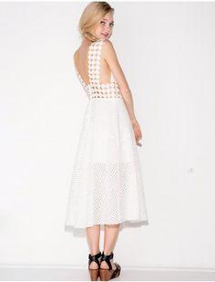 Shakuhachi Wonderland Lace Midi Dress @pixiemarket #pxiemarket #fashion