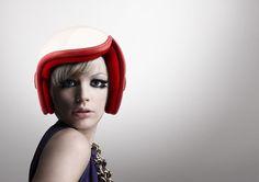 Luxy Vespa Helmet Features Retro Modern Design for Women Riders | Tuvie
