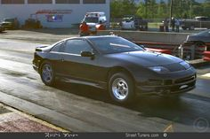 1990 nissan 300zx   1990 Nissan 300ZX Twin Turbo 1/4 mile Drag Racing trap speed 0-60
