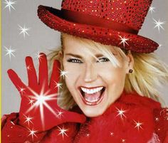 """Xuxa--one of the most famous Brazilian celebrities. She was a playboy model for a while but left it all to start a series of tv shows for kids. She's known as the """"queen of the little people"""". I lived in the city where she was born, Santa Rosa, Brazil."""