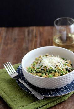 Spring Quinoa Risotto | Dietitian Debbie Dishes