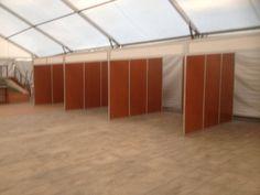 Stands modulares incluidos en una carpa para un #eventogastronomico. #carpas #eventos