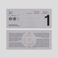 US Currency Redesign by Raymond Ramirez - @rayramire . . . . #design #graphicdesign #currency #designinspiration