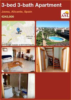 3-bed 3-bath Apartment in Javea, Alicante, Spain ►€242,000 #PropertyForSaleInSpain