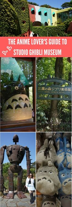 Studio Ghibli holds a special place in many anime lovers' hearts so it's without a doubt that the Studio Ghibli Museum will be on your bucket list. This guide will help you purchase tickets, get to the museum, things to do, exclusive souvenirs from the gift shop and sightseeing in the local area. #studioghibli #studioghiblimuseum