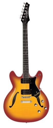 Save $ 10 order now Hagstrom Viking II UltraLux Electric Guitar (Cherry Sunburst