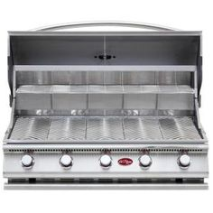 Cal Flame Gourmet Series 5-Burner Built-In Stainless Steel Propane Gas Grill-BBQ09G05-H at The Home Depot