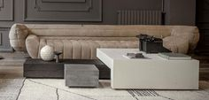BAXTER Jenga Low Tables Jenga, Beautiful Houses Interior, Beautiful Homes, Outdoor Furniture Sets, Outdoor Decor, Furniture Ideas, Low Tables, Minimalist Home, Home Living Room