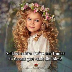 Sufletul nostru devine mai frumos cu fiecare gest venit din inimă!   Seară frumoasă... Suflete frumoase! ____________ The most beautiful posts   Despre Oameni frumosi