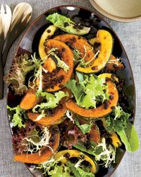 Ginger-Roasted Winter Squash | For winter squash that is crispy on the outside and moist within, Melissa Perello halves each one, roasts it until soft, then cuts it into wedges and roasts it some more.