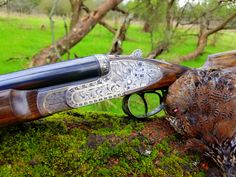 Hand engraved gun by Bill Oyster of Oyster Bamboo Fly Rods. Handcrafted for your lifetime…an heirloom for future generations. Bamboo Fly Rod, Fly Rods, Hand Engraving, Oysters, Hand Guns, Future, Art, Printmaking, Firearms